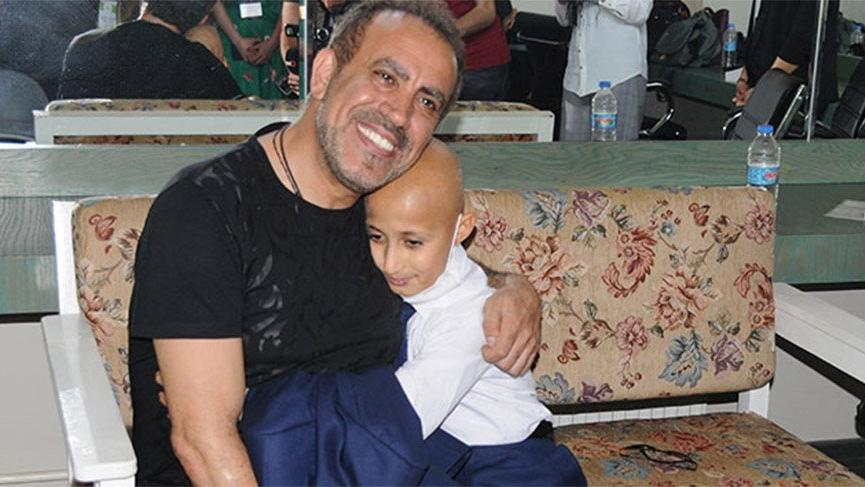 Haluk Levent, lösemi hastası Bünyamin'in o hayalini gerçekleştirdi