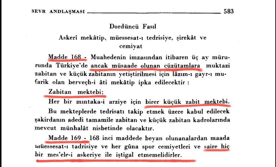 """""""Madde 168, Türkiye'de ancak izin verilen birlikler için subay ve astsubay yetiştirmek amacıyla kesinlikle zorunlu bulunan aşağıdaki okullar kalacaktır. Subay okulu… Her yersel bölge için birer küçük astsubay okulu."""" ile ilgili görsel sonucu"""