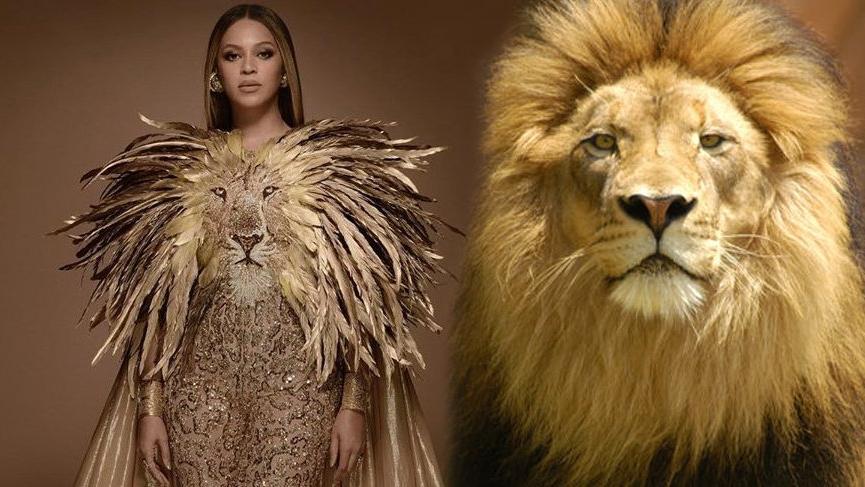 Beyonce'den Aslan Kral'a gönderme