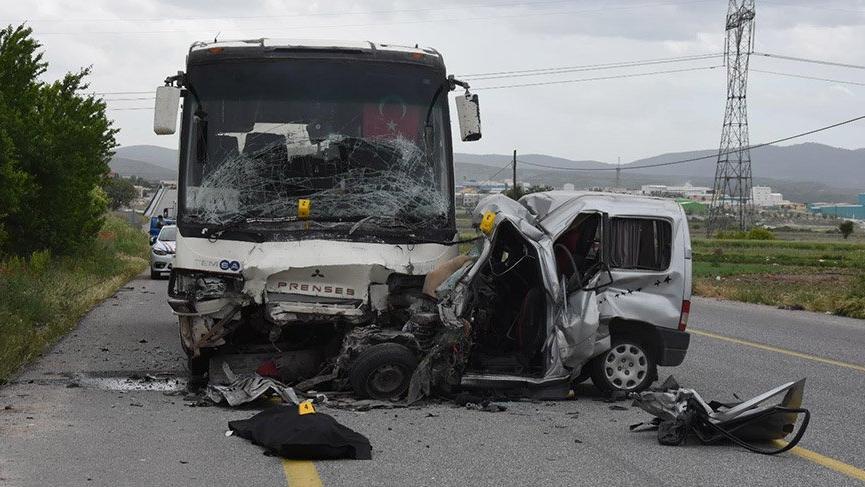 Bayram tatilinin 3 günlük kaza bilançosu: 32 ölü, 233 yaralı
