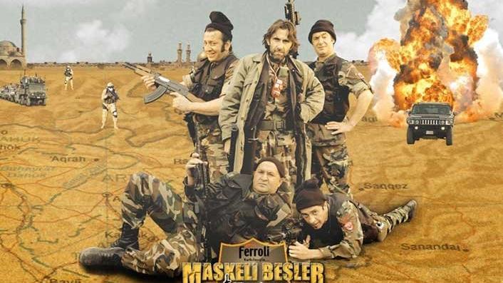 Maskeli Beşler Irak nerede çekildi? Konusu ne, oyuncuları kimler?