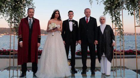 Mesut Özil ile Amine Gülşe hayatlarını birleştirdi