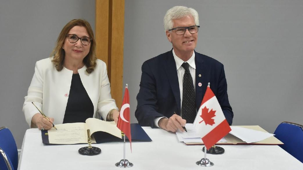 Türkiye ile Kanada arasında ticari iş birliği