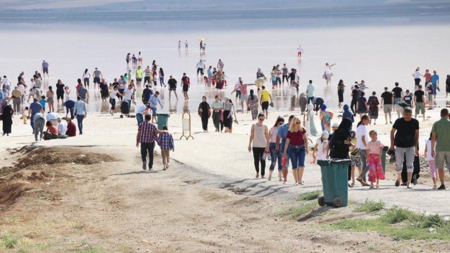Çıplak ayakla yürüme turizmi sahilleri aratmıyor