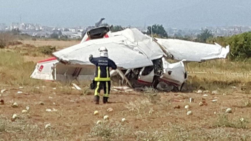 Son dakika... Antalya'da tek motorlu uçak düştü: 2 ölü