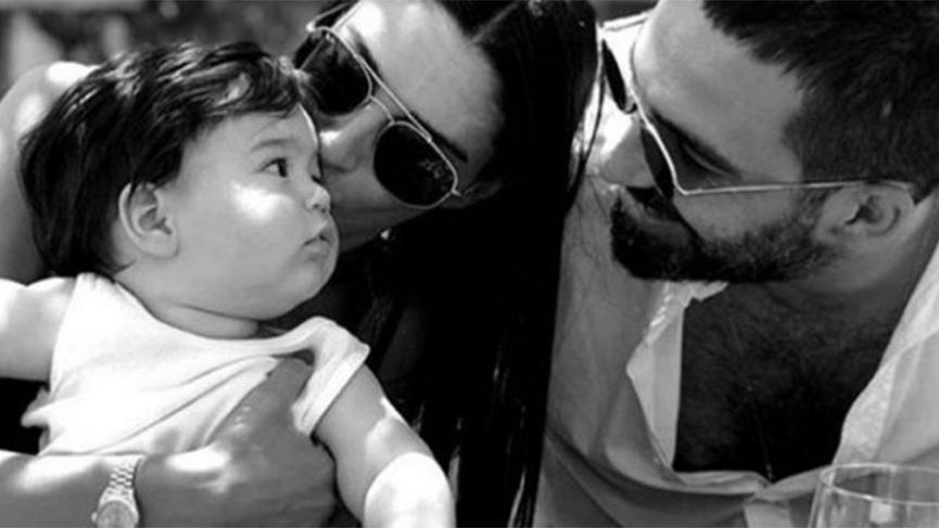 Arda Turan'dan mutlu aile tablosu