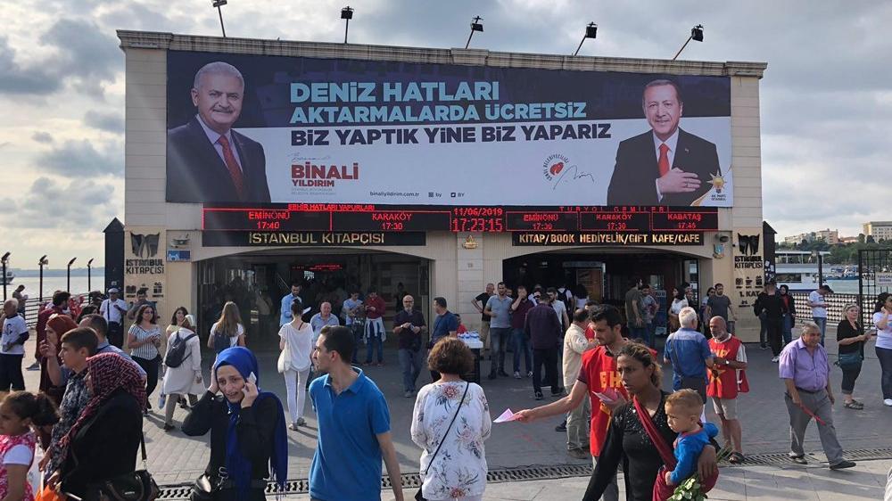 YSK kararını verdi! AKP'nin Kadıköy'deki afişi kaldırılacak