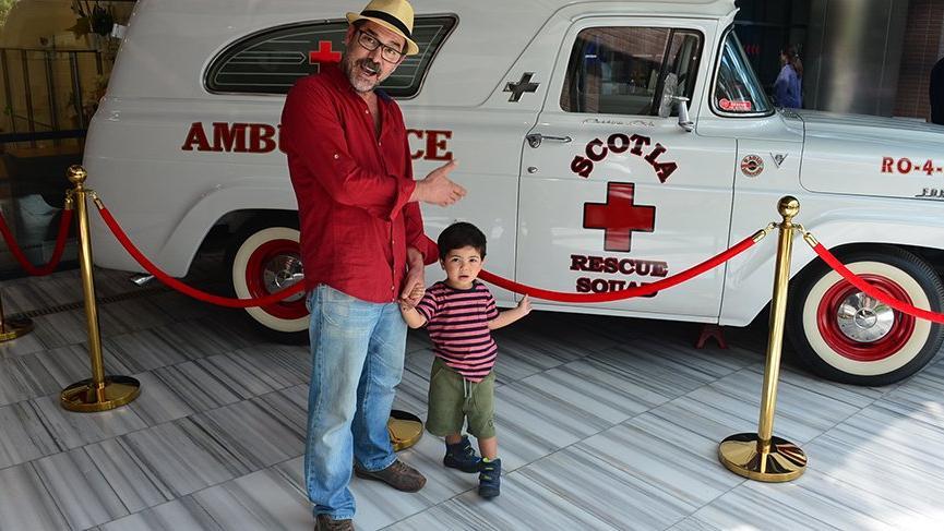 Fikret Kuşkan: Bak oğlum bu ambulans