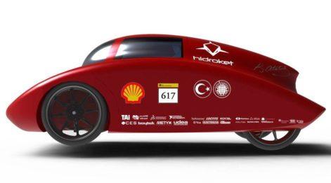 Öğrencilerin hidrojenle çalışan otomobili bu fuarda!