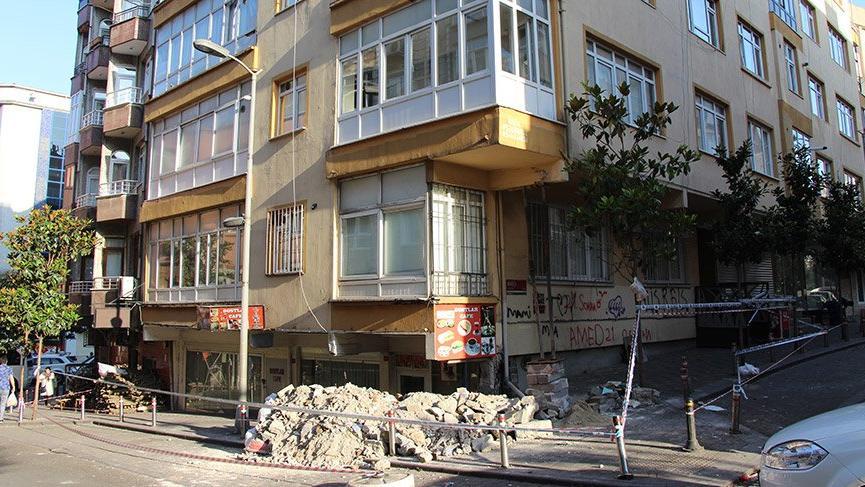 Son dakika... İstanbul'da 5 katlı bina yıkılma tehlikesi nedeniyle tahliye edildi