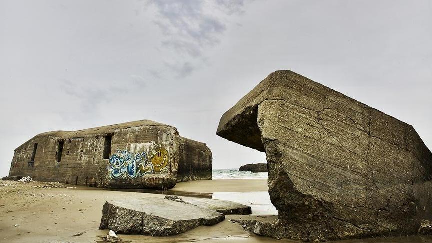 Okyanusun yuttuğu Hitler'in 5 bin km'lik duvarı