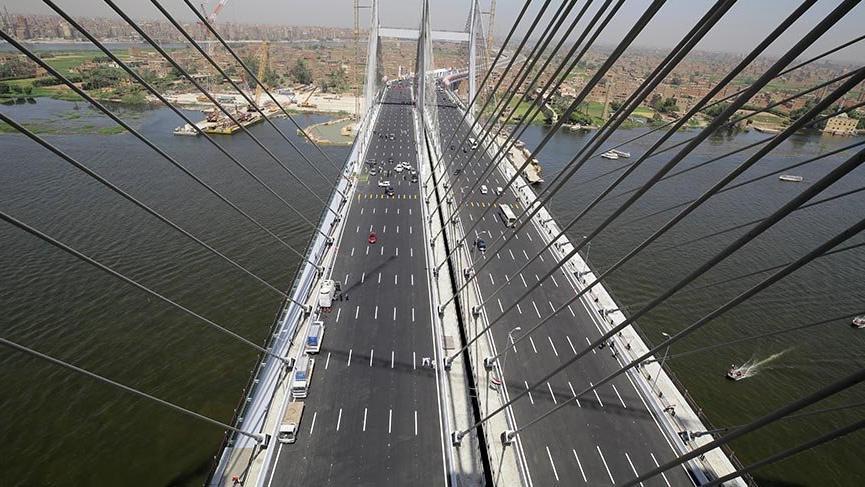 Dünyanın en geniş asma köprüsü açıldı