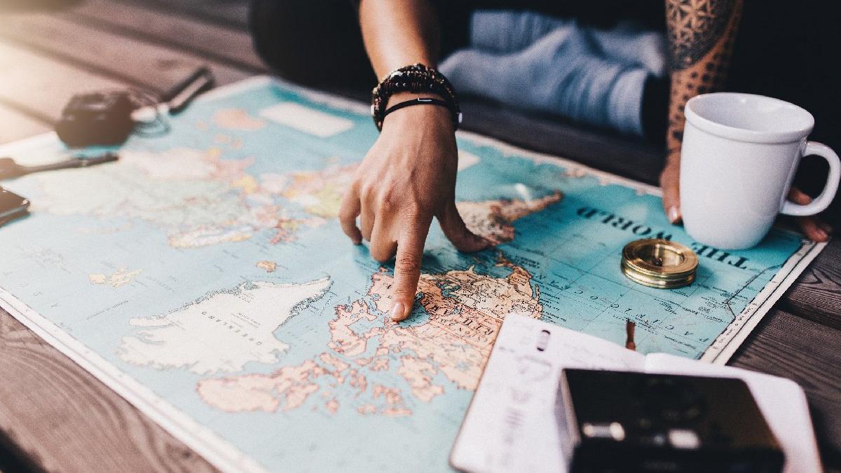 Dünya haritası üzerinde Umman nerede? YKS sorusu...