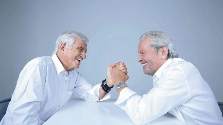 Alain Delon ve Jean Paul Belmando bir araya gelince…