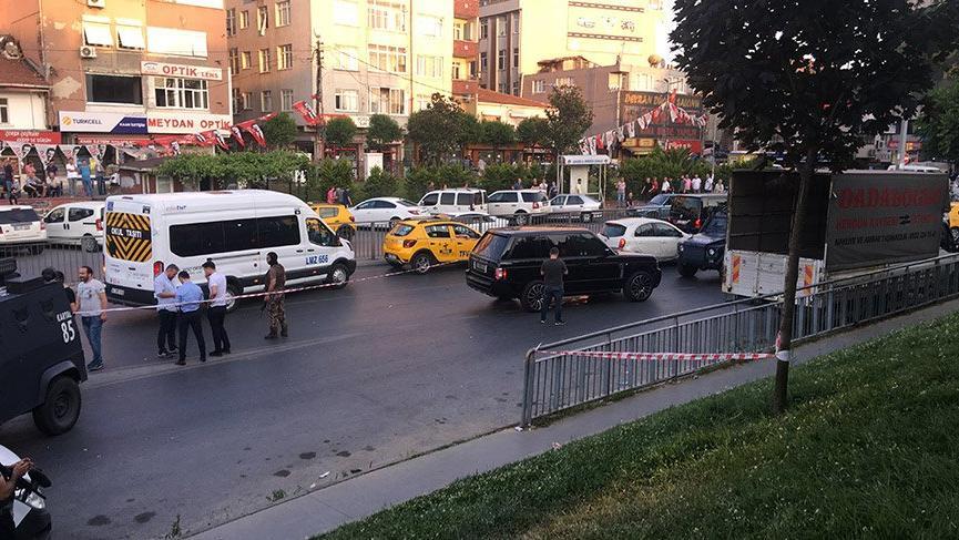 Okmeydanı'nda lüks cip silahlı saldırı: 4 yaralı
