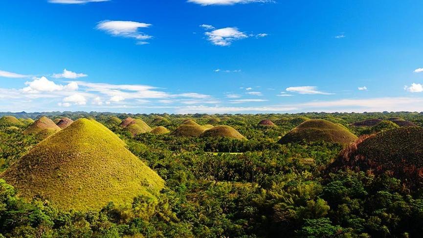 Yeryüzünün gizemli oluşumları: Çikolata Tepeleri
