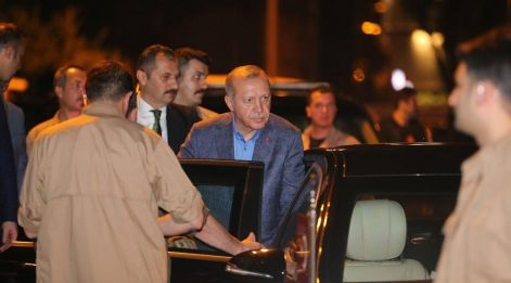 Cumhurbaşkanı 23.40'ta il başkanlarına gitti