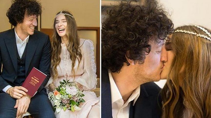 Müge Boz ve Caner Erdeniz evlendi