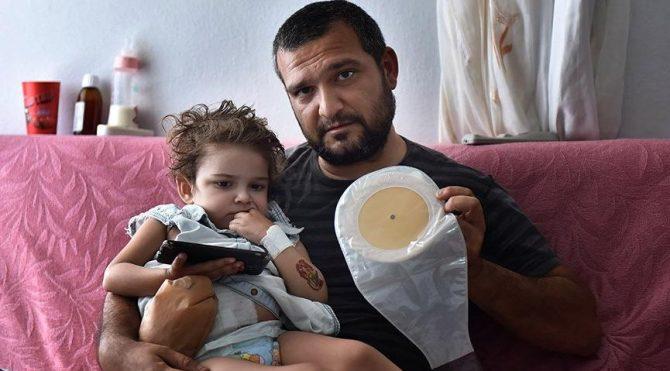 Nazlı'nın 'kolostomi torbalı' yaşam mücadelesi