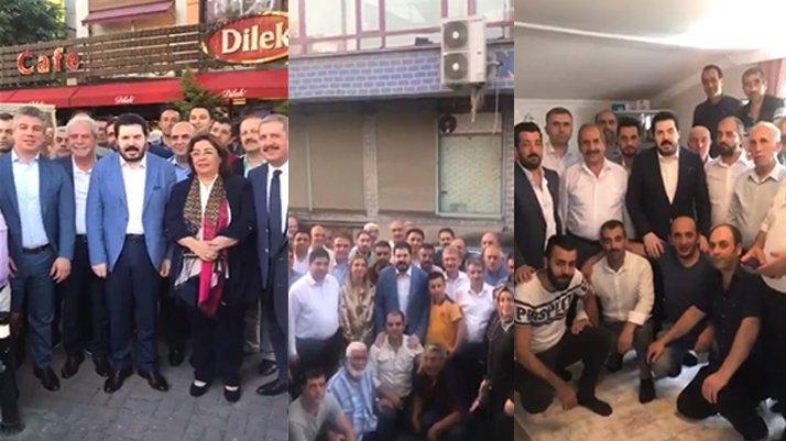 Ağrı'yı sel vurdu ama Başkan Sayan İstanbul'da seçim çalışmasında