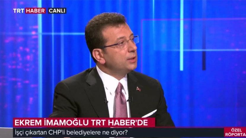 Son dakika... Sosyal medya İmamoğlu'nun TRT yayınıyla çalkalanıyor