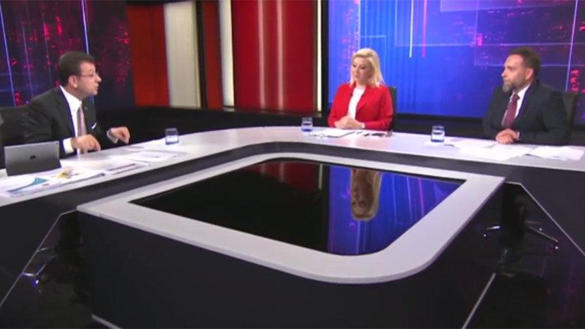 Son dakika... Ekrem İmamoğlu'ndan TRT'ye canlı yayında sert tepki