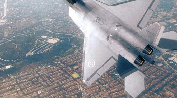 Milli Muharip Uçağı Paris'te görücüye çıktı