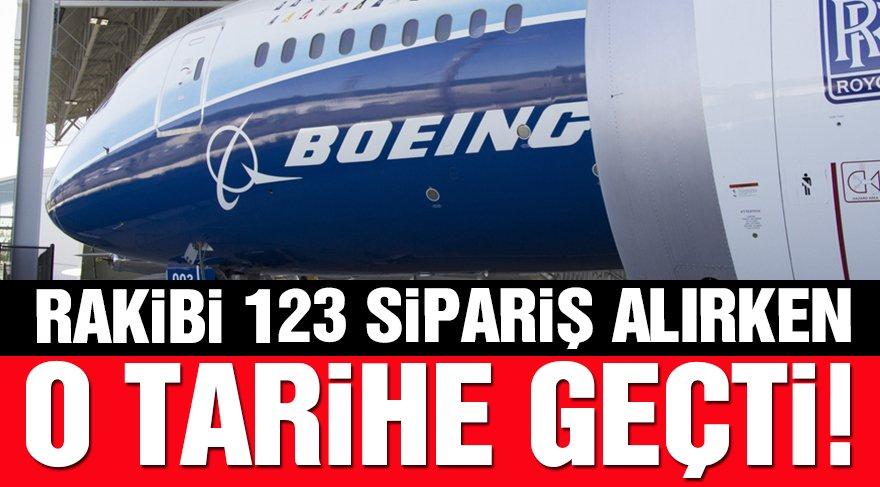 Boeing Paris Air Show'un ilk gününde sipariş alamadı