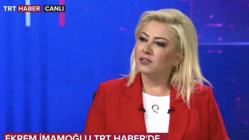 Eski TRT spikerinden İmamoğlu açıklaması: 'Kurum personeli sorsaydı ağır ceza alırdı'
