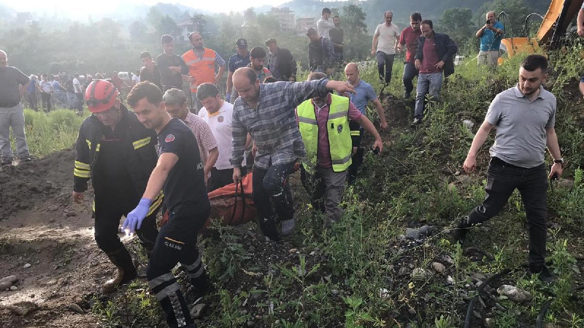 Trabzon'da sel felaketi! 4 ölü, 6 kayıp | Son dakika