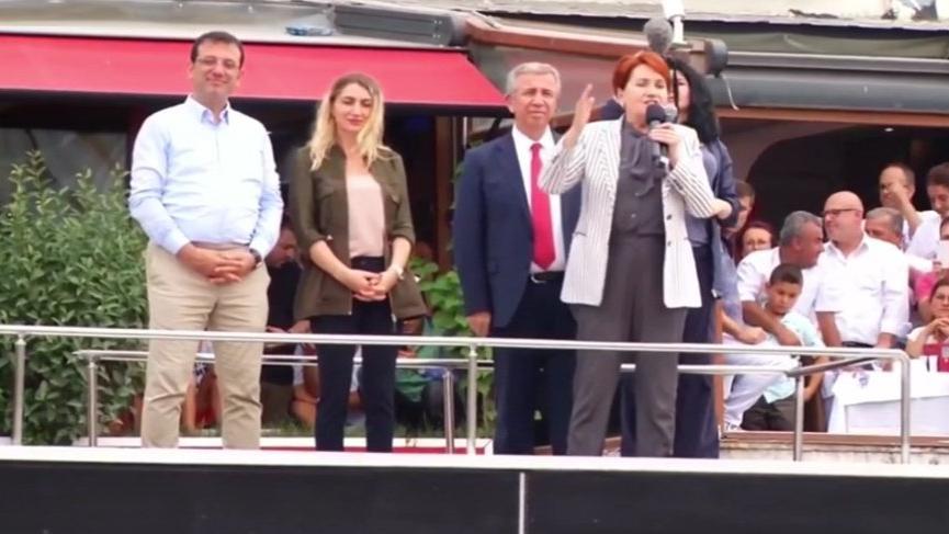 İmamoğlu'nun Çatalca mitingine Akşener ve Yavaş da katıldı