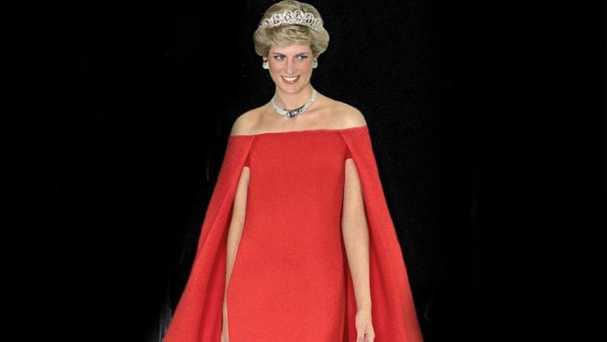Prenses Diana'nın kıyafetleri açık artırmada satıldı