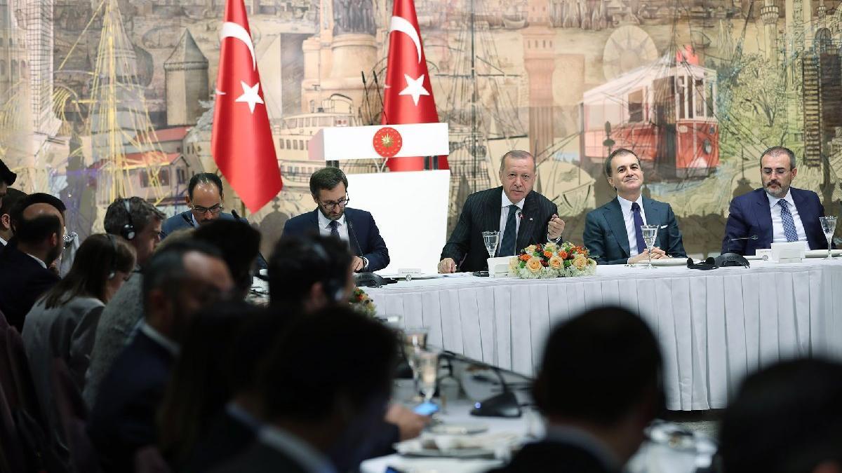 Erdoğan yabancı basına konuştu: ABD yaptırım uygularsa...