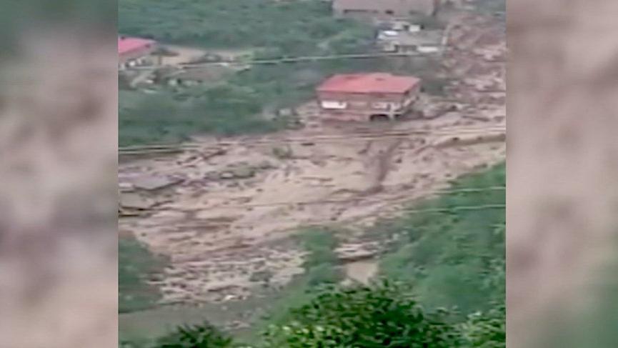 Araklı'daki sel felaketinin yeni görüntüleri ortaya çıktı