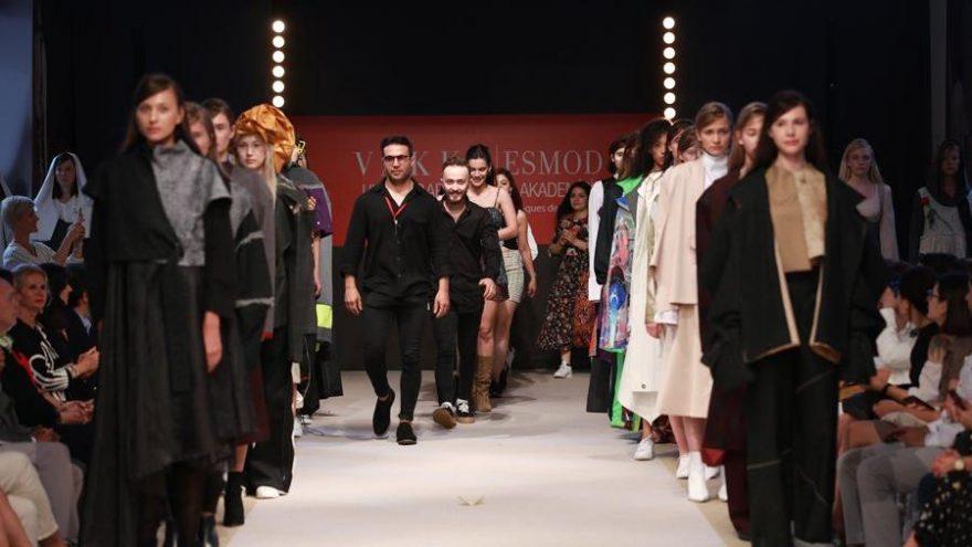 Vakko ESMOD Moda Akademisi öğrencilerinden mezuniyet defilesi