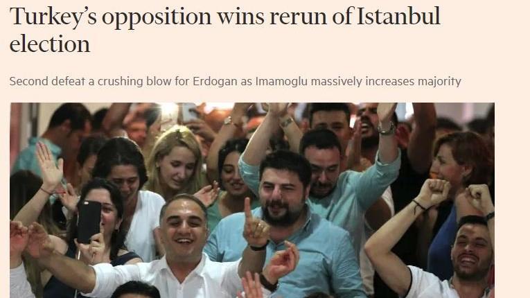 Financial Times'tan şok İstanbul seçimi yorumu