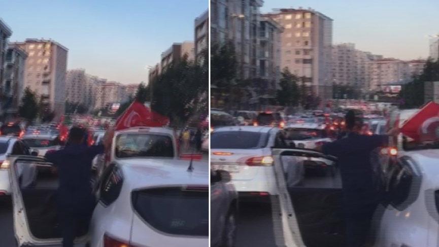 Ekrem İmamoğlu kazandı vatandaş kutlamaya çıktı!
