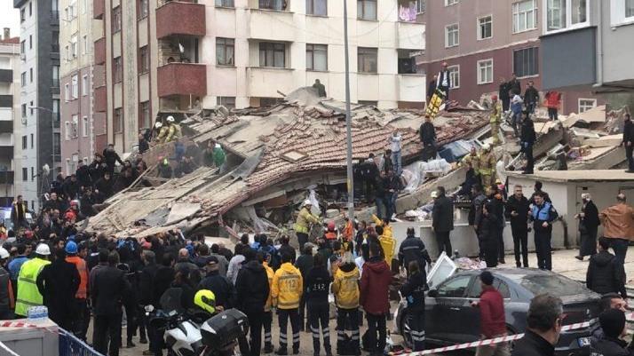 Kartal'da çöken binada yakınlarını kaybedenler anlattı: Güm diye bir ses geldi, bina çöktü