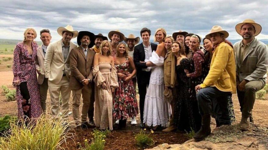 Karlie Kloss ve Joshua Kushner sekiz ay sonra yeniden evlendi