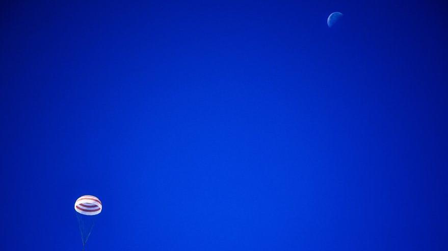 Soyuz 204 gün sonra Dünya'ya döndü