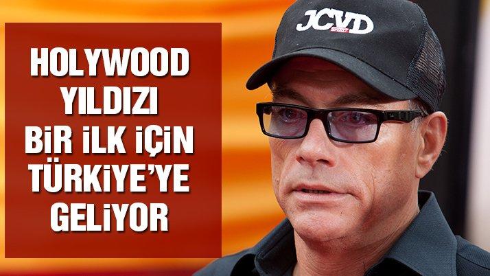Jean-Claude Van Damme, Türkiye'ye geliyor