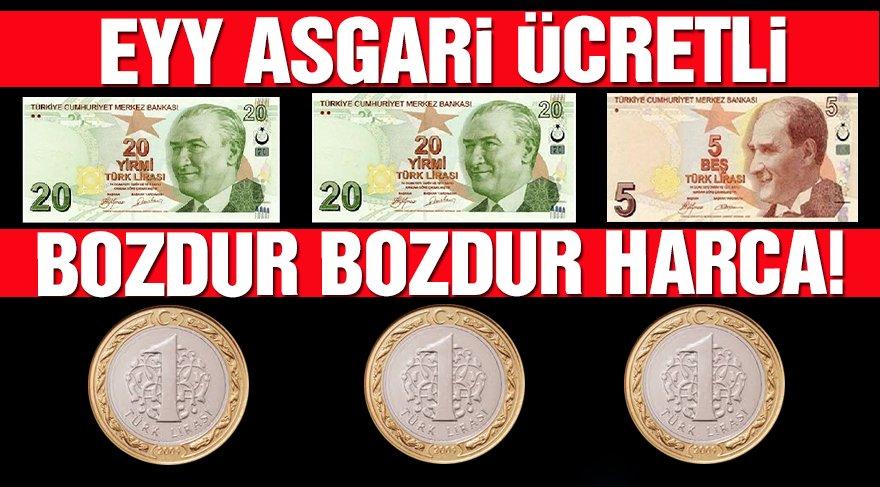 Türk-İş açlık ve yoksulluk sınırını açıkladı!