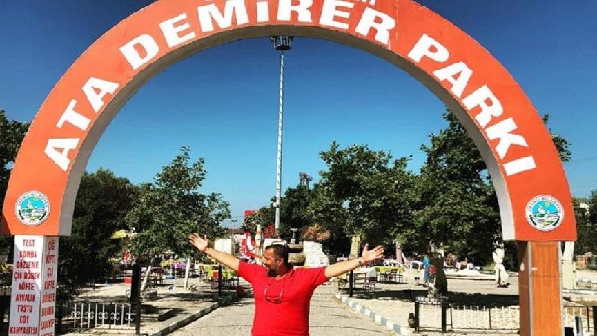 Ata Demirer'den adının yeniden verildiği park için teşekkür