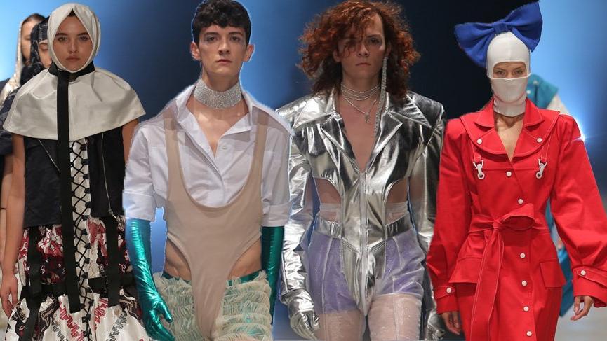 İstanbul Moda Akademisi (İMA) öğrencilerinden moda şov