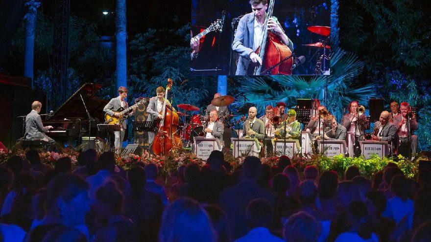Caz festivalinde 'Igor Butman ve Moskova Caz Orkestrası' sahne aldı