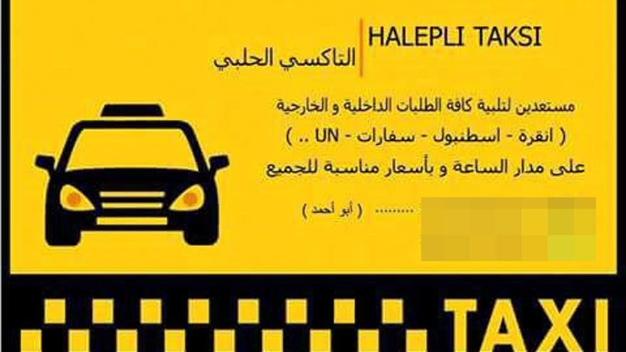 Suriyeliler taksici oldu!