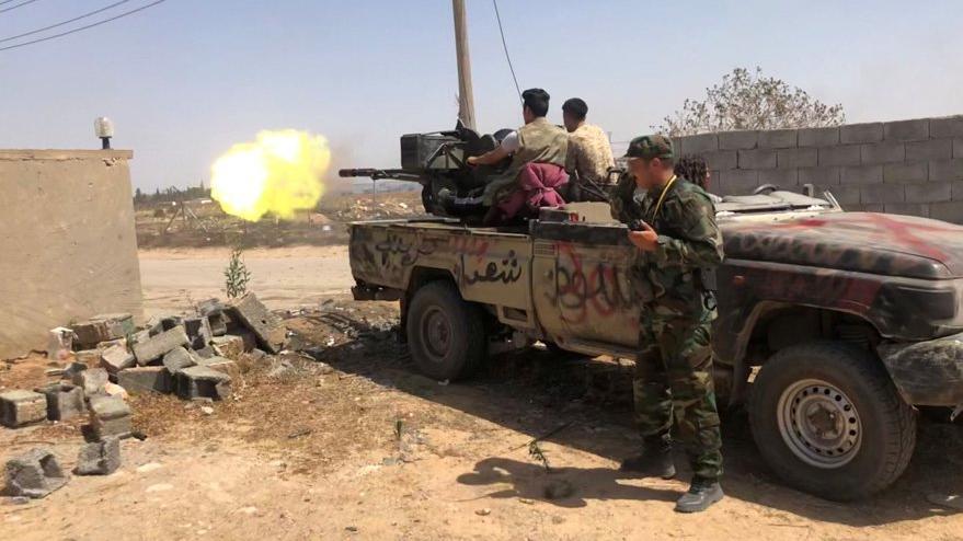 Son dakika... Libya'da Hafter güçleri ile savaşın eşiğindeyiz: Ankara'dan çok sert açıklama