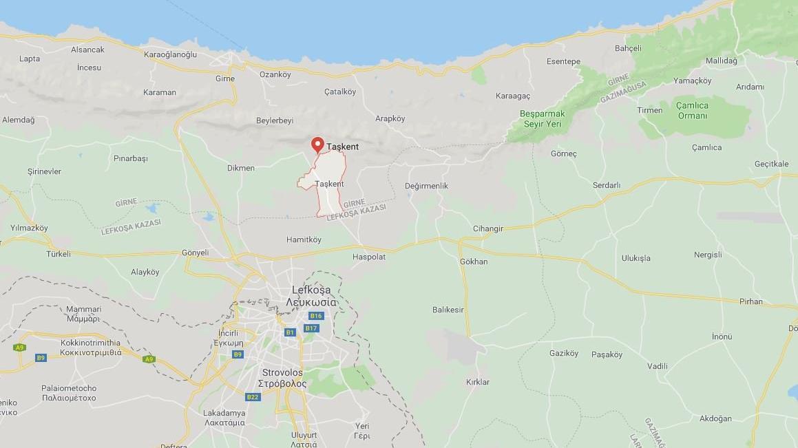 Kıbrıs Taşkent haritada nerede? Suriye ile Taşkent arası ne kadar?