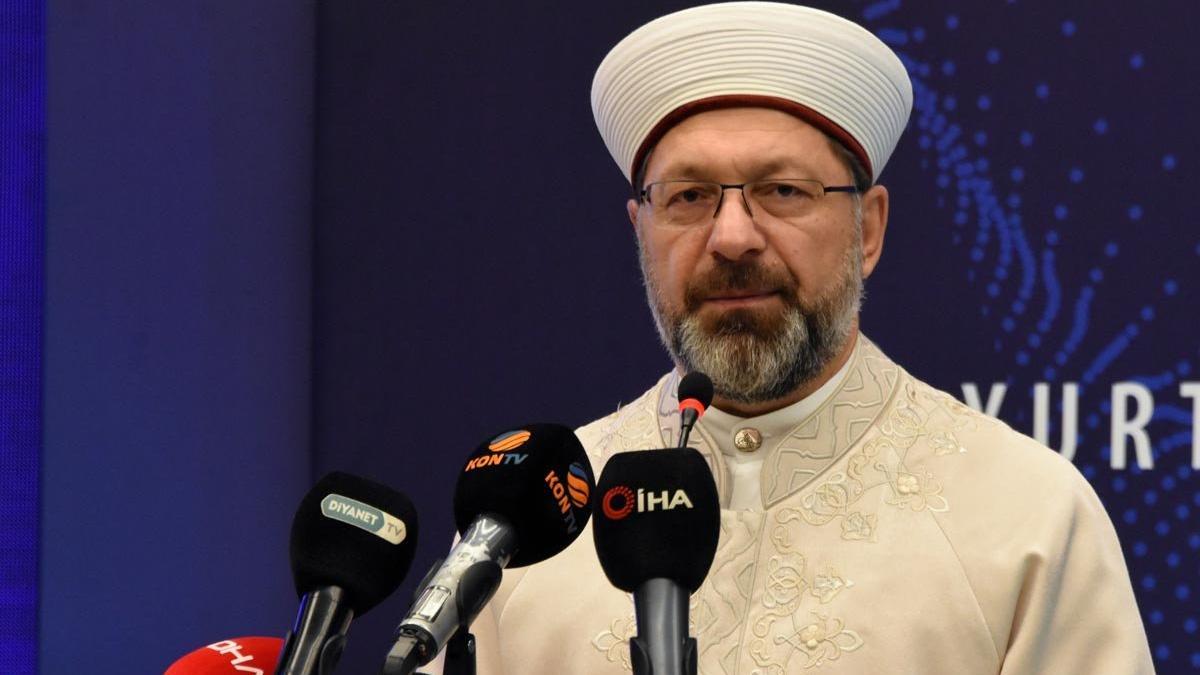 Diyanet İşleri Başkanı Erbaş: 'Onur Yürüyüşü' algı operasyonudur