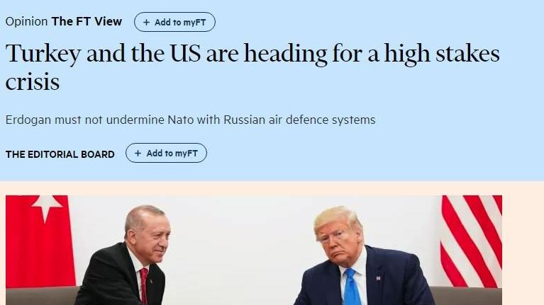 Financial Times'tan kritik analiz: Trump'ın sözlerine güvenmek akıllıca olmaz